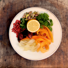 Goji Carrot Salad